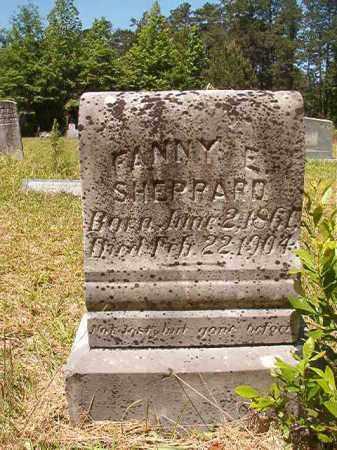 SHEPPARD, FANNY E - Columbia County, Arkansas | FANNY E SHEPPARD - Arkansas Gravestone Photos