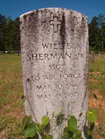 SHERMAN, JR (VETERAN), WILLIE - Columbia County, Arkansas   WILLIE SHERMAN, JR (VETERAN) - Arkansas Gravestone Photos