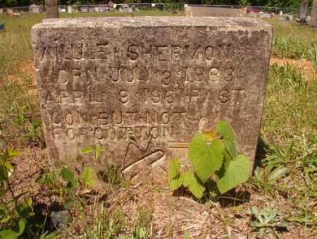 SHERMON, WILLIE - Columbia County, Arkansas | WILLIE SHERMON - Arkansas Gravestone Photos