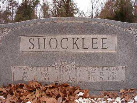 WILSON SHOCKLEE, GERTRUDE - Columbia County, Arkansas | GERTRUDE WILSON SHOCKLEE - Arkansas Gravestone Photos