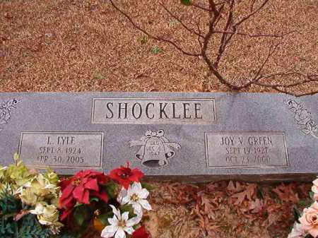SHOCKLEE, L LYLE - Columbia County, Arkansas | L LYLE SHOCKLEE - Arkansas Gravestone Photos