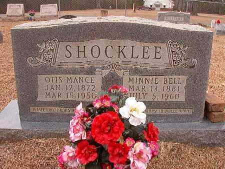 SHOCKLEE, MINNIE BELL - Columbia County, Arkansas | MINNIE BELL SHOCKLEE - Arkansas Gravestone Photos