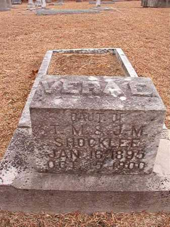 SHOCKLEE, VERA E - Columbia County, Arkansas | VERA E SHOCKLEE - Arkansas Gravestone Photos