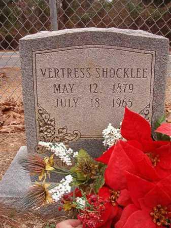 SHOCKLEE, VERTRESS - Columbia County, Arkansas | VERTRESS SHOCKLEE - Arkansas Gravestone Photos