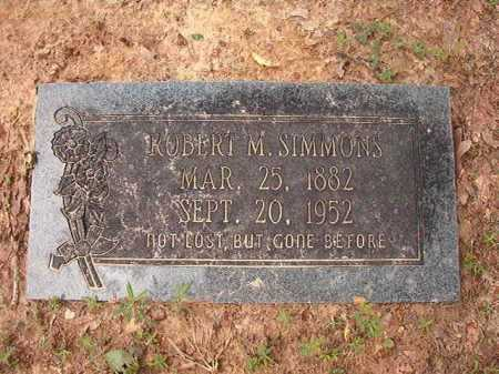 SIMMONS, ROBERT M - Columbia County, Arkansas   ROBERT M SIMMONS - Arkansas Gravestone Photos