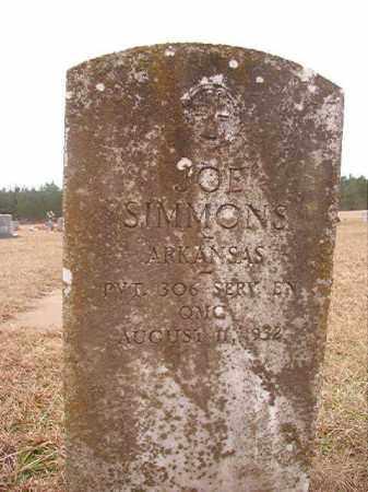 SIMMONS (VETERAN), JOE - Columbia County, Arkansas | JOE SIMMONS (VETERAN) - Arkansas Gravestone Photos