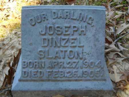 SLATON, JOSEPH DINZEL - Columbia County, Arkansas | JOSEPH DINZEL SLATON - Arkansas Gravestone Photos