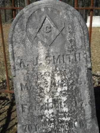 SMITH, A J - Columbia County, Arkansas   A J SMITH - Arkansas Gravestone Photos