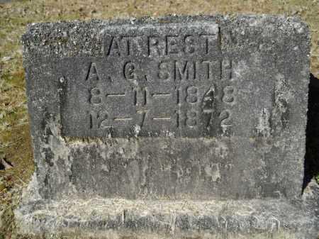 SMITH, A G - Columbia County, Arkansas | A G SMITH - Arkansas Gravestone Photos