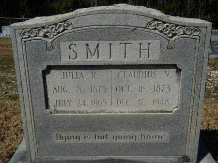 SMITH, JULIA R - Columbia County, Arkansas | JULIA R SMITH - Arkansas Gravestone Photos