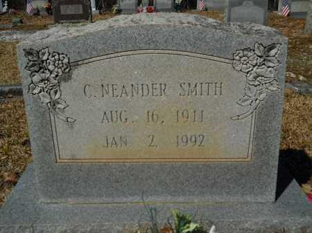SMITH, C NEANDER - Columbia County, Arkansas | C NEANDER SMITH - Arkansas Gravestone Photos