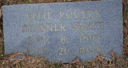SMITH, EFFIE - Columbia County, Arkansas | EFFIE SMITH - Arkansas Gravestone Photos
