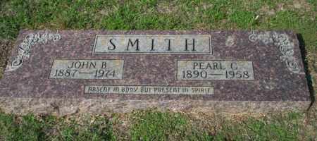 SMITH, JOHN B - Columbia County, Arkansas | JOHN B SMITH - Arkansas Gravestone Photos