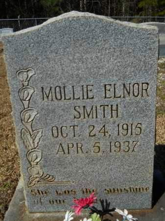 SMITH, MOLLIE ELNOR - Columbia County, Arkansas | MOLLIE ELNOR SMITH - Arkansas Gravestone Photos