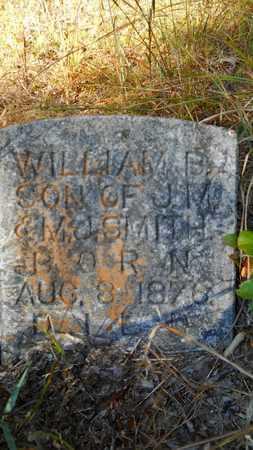 SMITH, WILLIAM B - Columbia County, Arkansas | WILLIAM B SMITH - Arkansas Gravestone Photos