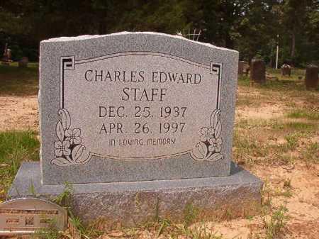 STAFF, CHARLES EDWARD - Columbia County, Arkansas | CHARLES EDWARD STAFF - Arkansas Gravestone Photos