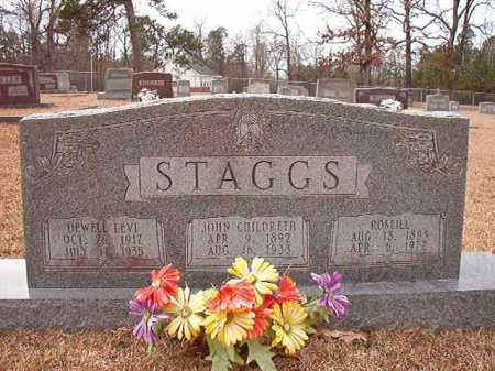STAGGS, DEWELL LEVI - Columbia County, Arkansas | DEWELL LEVI STAGGS - Arkansas Gravestone Photos