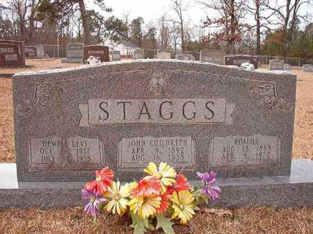 STAGGS, ROSEILL - Columbia County, Arkansas | ROSEILL STAGGS - Arkansas Gravestone Photos