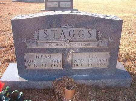 STAGGS, HIRAM - Columbia County, Arkansas | HIRAM STAGGS - Arkansas Gravestone Photos