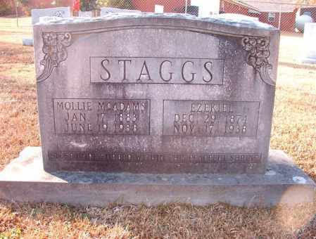 MCADAMS STAGGS, MOLLIE - Columbia County, Arkansas | MOLLIE MCADAMS STAGGS - Arkansas Gravestone Photos