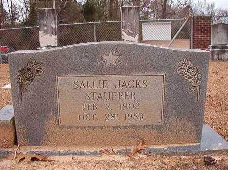 STAUFFER, SALLIE - Columbia County, Arkansas | SALLIE STAUFFER - Arkansas Gravestone Photos