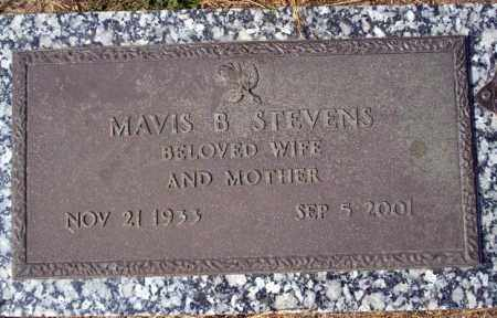 STEVENS, MAVIS B - Columbia County, Arkansas | MAVIS B STEVENS - Arkansas Gravestone Photos