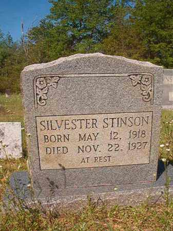 STINSON, SILVESTER - Columbia County, Arkansas   SILVESTER STINSON - Arkansas Gravestone Photos