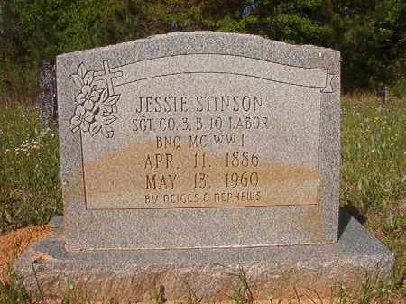STINSON (VETERAN WWI), JESSIE - Columbia County, Arkansas | JESSIE STINSON (VETERAN WWI) - Arkansas Gravestone Photos