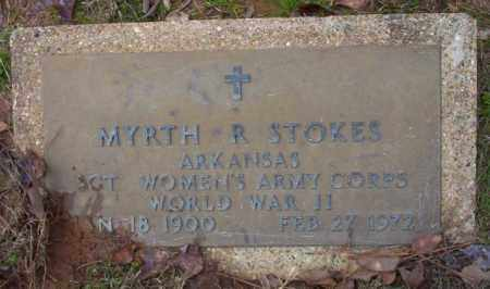 STOKES (VETERAN WWII), MYRTH R - Columbia County, Arkansas | MYRTH R STOKES (VETERAN WWII) - Arkansas Gravestone Photos