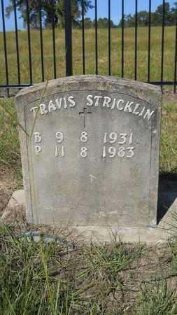STRICKLIN, TRAVIS - Columbia County, Arkansas | TRAVIS STRICKLIN - Arkansas Gravestone Photos