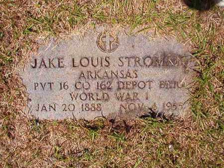 STROMAN (VETERAN WWI), JAKE LOUIS - Columbia County, Arkansas   JAKE LOUIS STROMAN (VETERAN WWI) - Arkansas Gravestone Photos