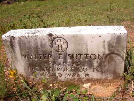 SUTTON (VETERAN WWII), WALTER E - Columbia County, Arkansas | WALTER E SUTTON (VETERAN WWII) - Arkansas Gravestone Photos