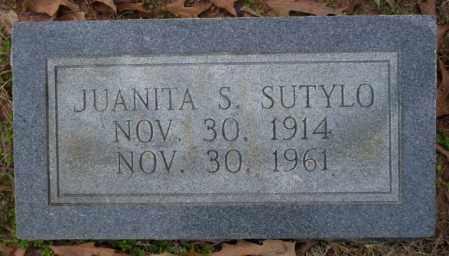 SUTYLO, JUANITA S - Columbia County, Arkansas | JUANITA S SUTYLO - Arkansas Gravestone Photos