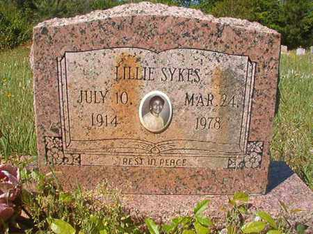 SYKES, LILLIE - Columbia County, Arkansas | LILLIE SYKES - Arkansas Gravestone Photos
