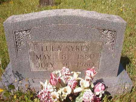 SYKES, LULA - Columbia County, Arkansas   LULA SYKES - Arkansas Gravestone Photos