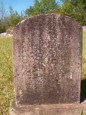 SYKES, RUBEN - Columbia County, Arkansas   RUBEN SYKES - Arkansas Gravestone Photos