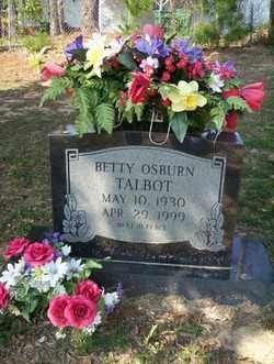 TALBOT, BETTY - Columbia County, Arkansas | BETTY TALBOT - Arkansas Gravestone Photos