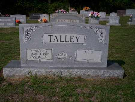 TALLEY, HERMAN A - Columbia County, Arkansas | HERMAN A TALLEY - Arkansas Gravestone Photos