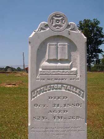 TALLEY, LITTLETON - Columbia County, Arkansas | LITTLETON TALLEY - Arkansas Gravestone Photos