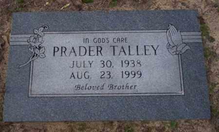TALLEY, PRADER - Columbia County, Arkansas | PRADER TALLEY - Arkansas Gravestone Photos