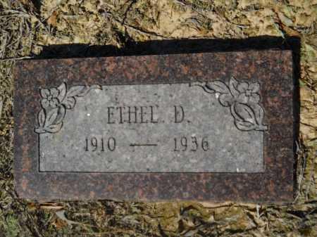 TANNER, ETHEL D - Columbia County, Arkansas   ETHEL D TANNER - Arkansas Gravestone Photos
