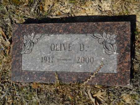 TANNER, OLIVE D - Columbia County, Arkansas | OLIVE D TANNER - Arkansas Gravestone Photos