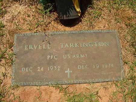 TARKINGTON (VETERAN), ERVELL - Columbia County, Arkansas | ERVELL TARKINGTON (VETERAN) - Arkansas Gravestone Photos