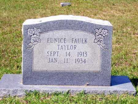 FAULK TAYLOR, EUNICE - Columbia County, Arkansas | EUNICE FAULK TAYLOR - Arkansas Gravestone Photos