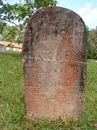 TAYLOR, HASLEY - Columbia County, Arkansas | HASLEY TAYLOR - Arkansas Gravestone Photos