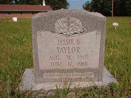 TAYLOR, JESSIE B - Columbia County, Arkansas   JESSIE B TAYLOR - Arkansas Gravestone Photos