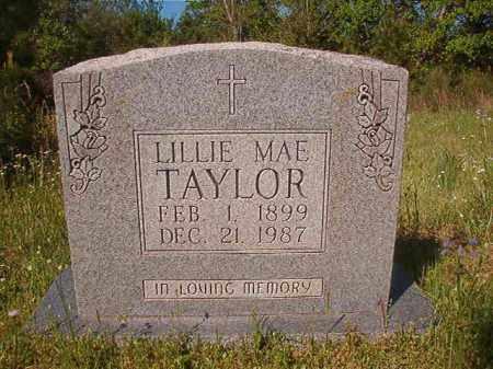 TAYLOR, LILLIE MAE - Columbia County, Arkansas | LILLIE MAE TAYLOR - Arkansas Gravestone Photos