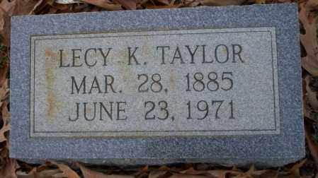 TAYLOR, LECY K - Columbia County, Arkansas | LECY K TAYLOR - Arkansas Gravestone Photos