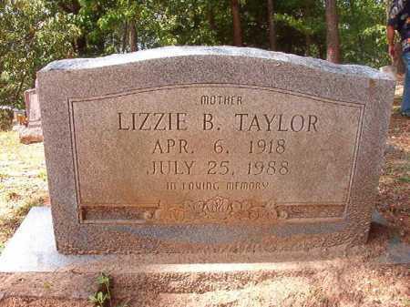 TAYLOR, LIZZIE B - Columbia County, Arkansas   LIZZIE B TAYLOR - Arkansas Gravestone Photos