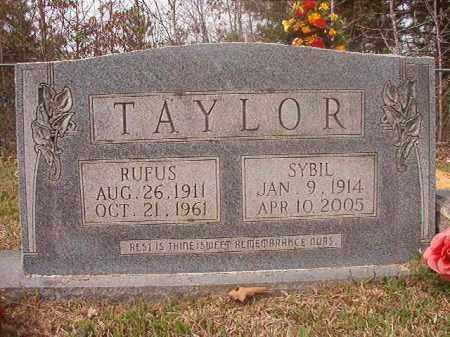TAYLOR, RUFUS - Columbia County, Arkansas   RUFUS TAYLOR - Arkansas Gravestone Photos